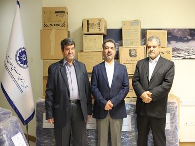 تحویل 5000اقلام بهداشتی به دانشگاه علوم پزشکی البرز